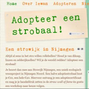 Adopteer een strobaal
